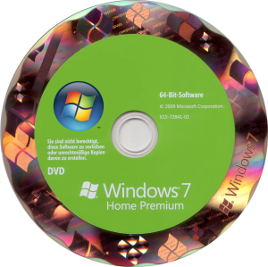 Windows 7 DVD