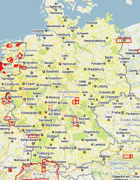 Aktualisierte Karten für Maps und co – go seven !